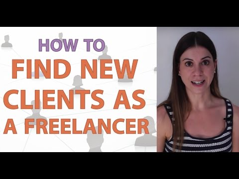 How to Find New Clients as a Freelancer