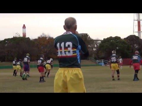 ラグビー不惑交流戦 三重惑-東惑1/5 20151206