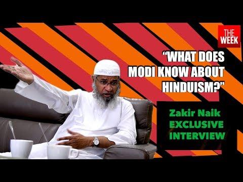 Zakir Naik Challenges Modi To Debate On Hinduism | THE WEEK | Videos
