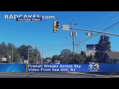 Fireball Caught Streaking Across Northeast United States