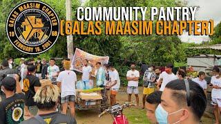 COMMUNITY PANTRY (GALAS MAASIM CHAPTER)