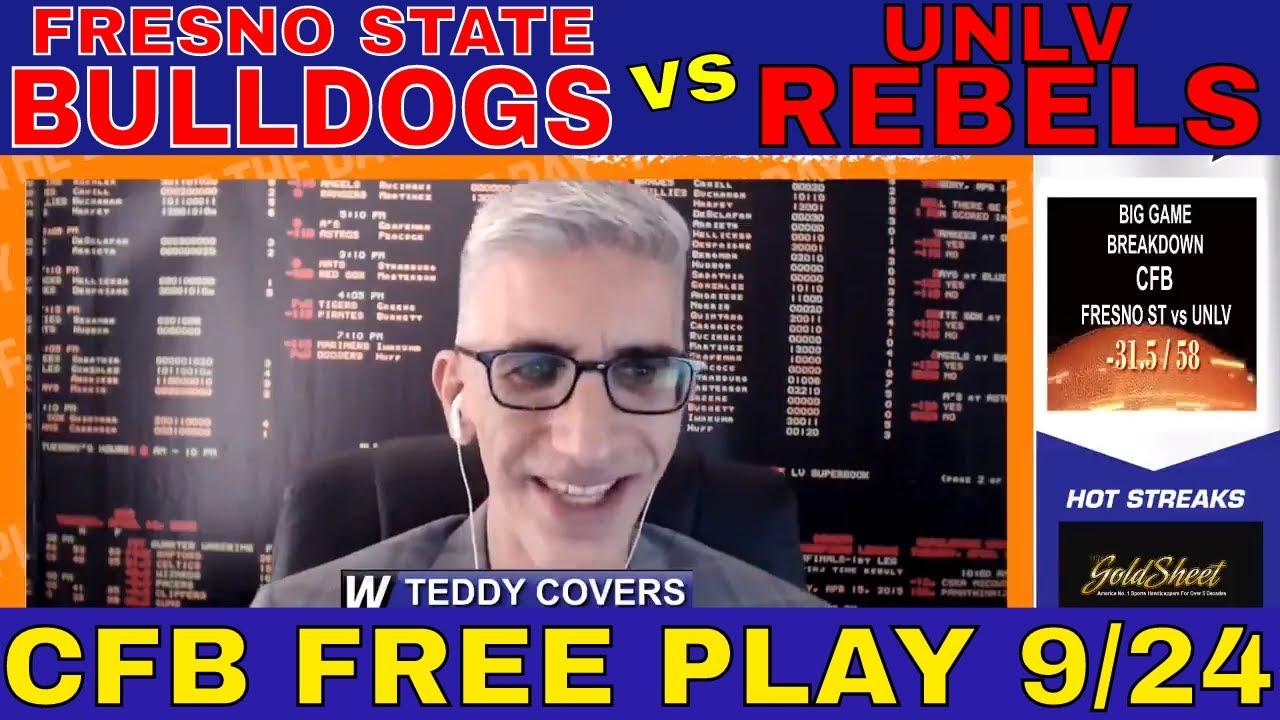 Fresno State vs. UNLV odds, line, spread: College football picks ...