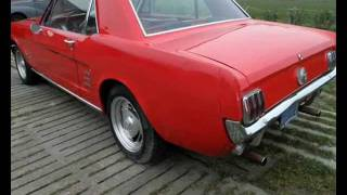 Ford Mustang V8 289 Pony - www.ErClassicCars.com