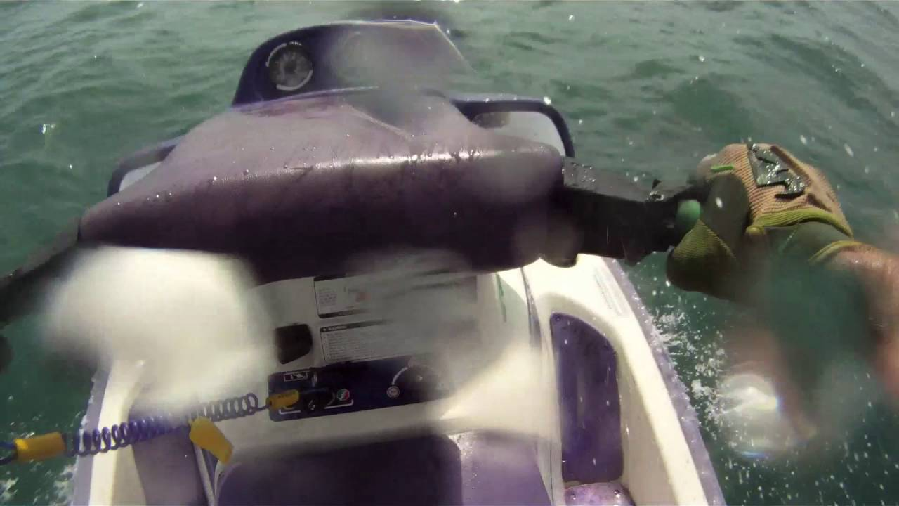 1991 Seadoo Xp In The Ocean