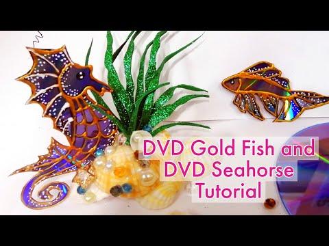 3 Amazing Latest DVD/CD Craft Ideas you must try.. #cdcraftideas#dvdcraft#cdcraft