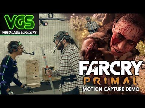 I AM TAKKAR! Ubisoft Far Cry Primal Motion Cap Demo – WITH ME!