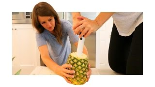 PINEAPPLE PUMP! | iJustine