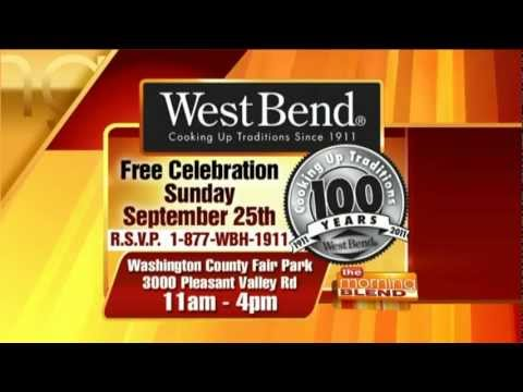West Bend® Housewares Interview - 100th Anniversary/Recipe Demo On Morning Blend