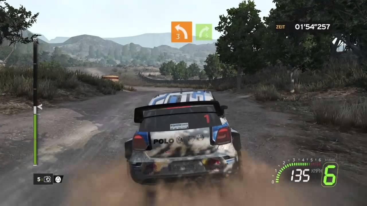 wrc 5 fia world rally championship gameplay playstation. Black Bedroom Furniture Sets. Home Design Ideas