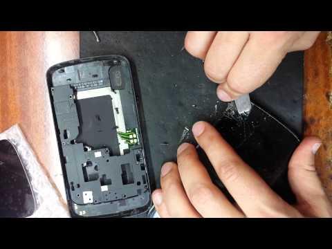 LG NEXUS 4 E960 замена дисплейного модуля