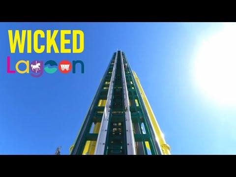 WICKED - Lagoon Park Roller Coaster POV