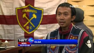 NET24 - Seorang Fans West Ham Indonesia Bertemu David Gold