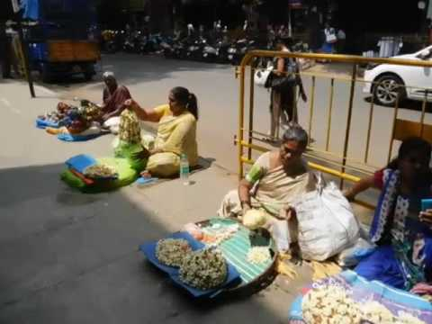 Malleswaram - Mercado popular em Bangalore