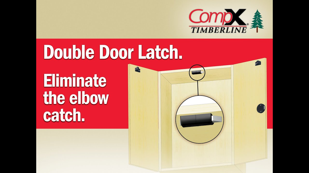 new) CompX Timberline: Double Door Latch. Eliminate the Elbow ...