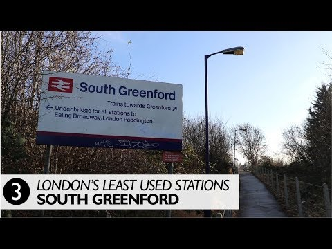 London's Least Used Stations No.3 - South Greenford