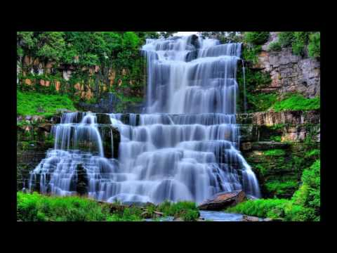 The world paints paint-waterfalls