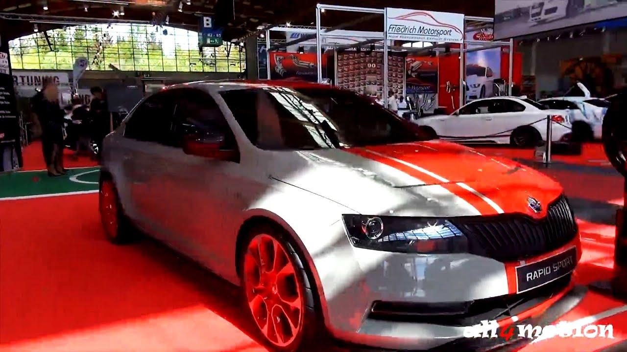 skoda rapid sport tuning concept car tuning world. Black Bedroom Furniture Sets. Home Design Ideas