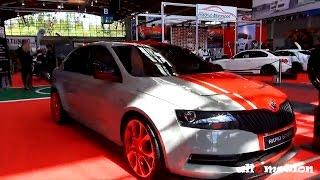 Skoda Rapid Sport Concept 2013 Videos