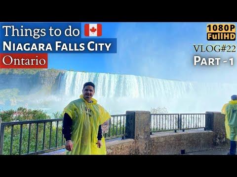 Niagara Falls | Things To Do Part 1 | Canada-USA Border | VLOG 22 | 1080p