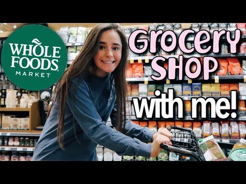 GROCERY SHOP WITH ME! (whole foods + farmers market)