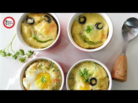 Egg Bake by Food Fusion Kids