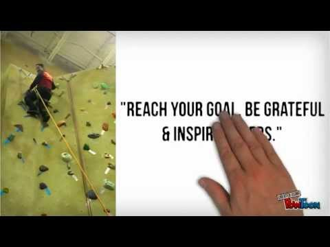 Indoor Wall Climbing Training Motivational Quotes By Noel