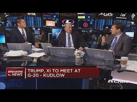 Trump, Xi to meet at G-20: Kudlow