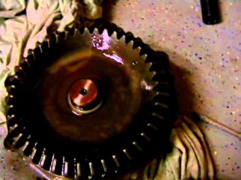 Kubota Tractor Front Axle Bearing Repair Part 1