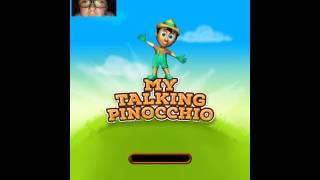 Mijn Pratende Pinokkio #virtualpets #talking_games #cartoon #pinocchio