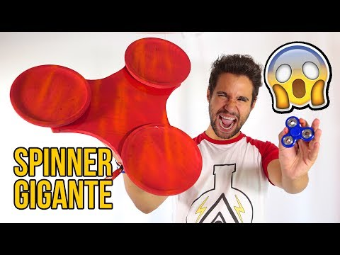 How to Make a GIANT FIDGET SPINNER
