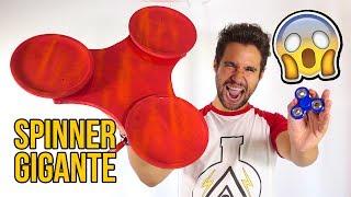 Cómo hacer un FIDGET SPINNER GIGANTE