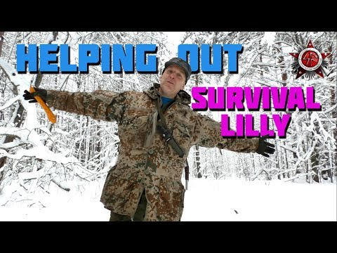 Helping Out Survival Lilly With Saws And Safety
