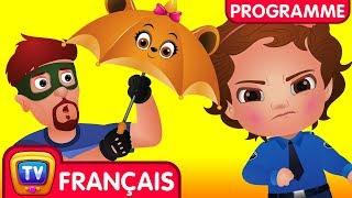 chuChu TV Police Les Oeufs Surprise - Episode 12 - Les Amis Parapluies