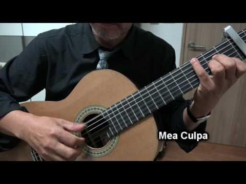 Mea Culpa - Classical Guitar - Played,Arr.-DONG HWAN_ NOH