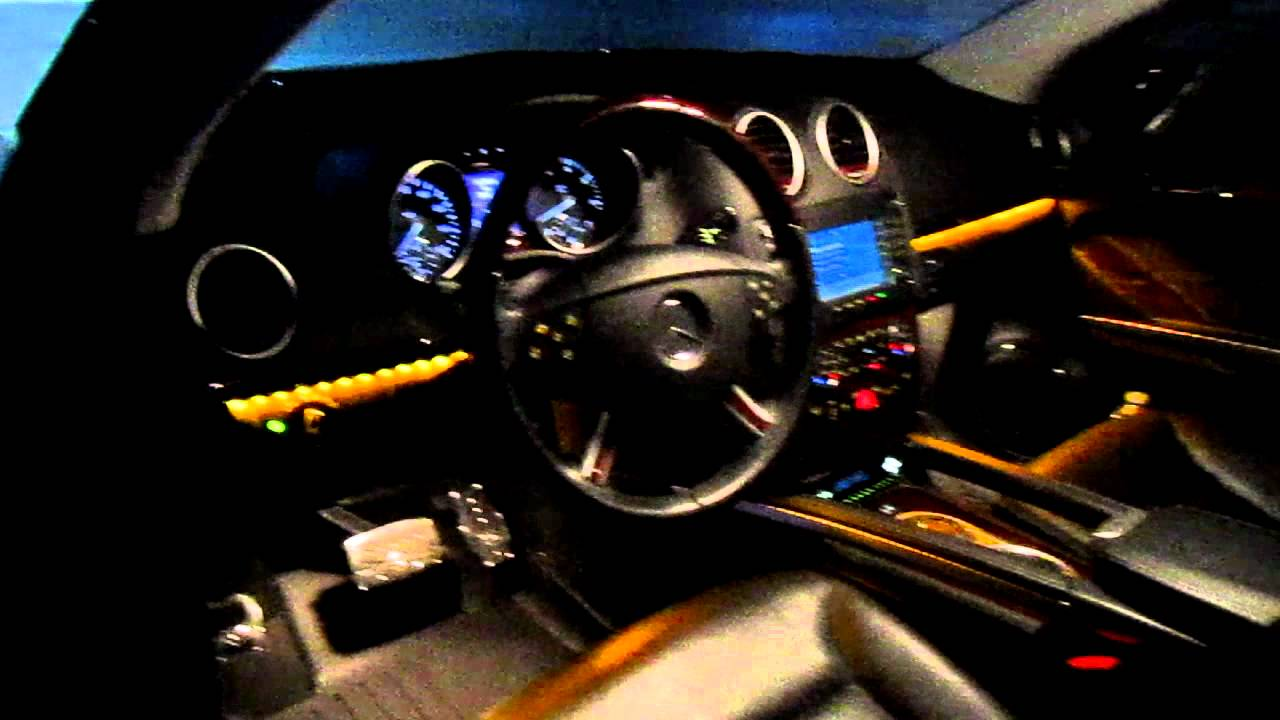 Ambient Lighting Mercedes Benz Gl 550 Youtube