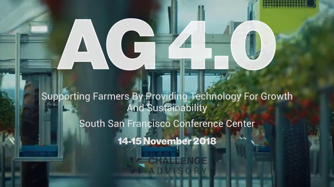 AG 4 0: Biggest Agriculture Conference of 2018 | Challenge Advisory (Teaser  Trailer)
