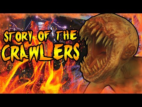 The Story of CRAWLERS! SECRET NOVA 6 BEASTS ARE KEEPERS! Call of Duty Black Ops Zombies Storyline