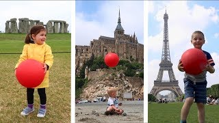Fun and Creative Family Travel Video - Bouncing Around Europe