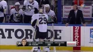 Pittsburgh Penguins @ New York Rangers Game 2 Highlights 4/18/15