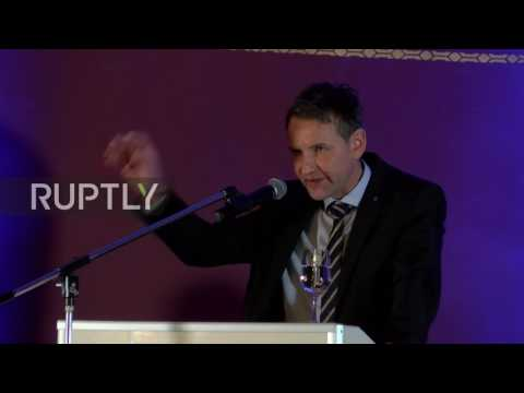 Germany: AfD's Hoecke compares Merkel to GDR leader Erich Honecker
