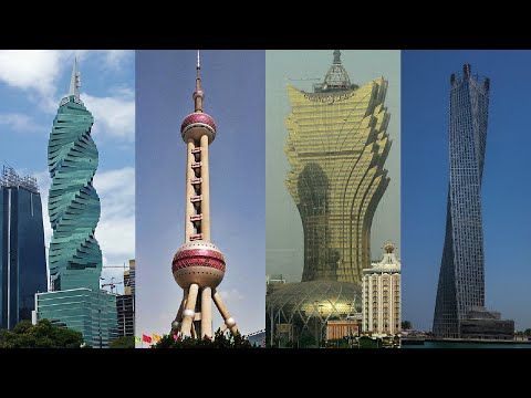 World's Most Amazing Places / Pictures / Photos on Earth of Skyscrapers, Buildings & Towers