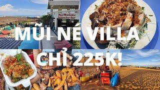 Chợ Mũi Né: Miến gỏi vịt RẤT NGON - Villa có hồ bơi chỉ 10Usd! - Đồi cát hồng - Du lịch Mũi Né #6