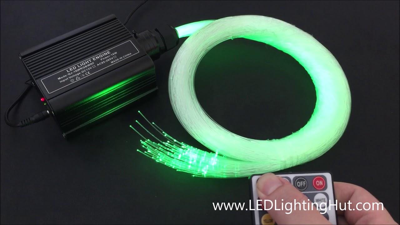 16 Watt Rgbw Led Illuminator With Rf Remote