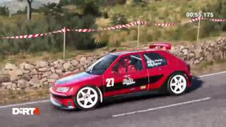 JOT381 DIRT 4 PS4 GAMEPLAY WITH REPLAY PEUGEOT 306 MAXI