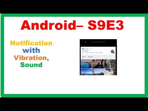 Android Scheduling and Notifications → Android Notifications – Camposha