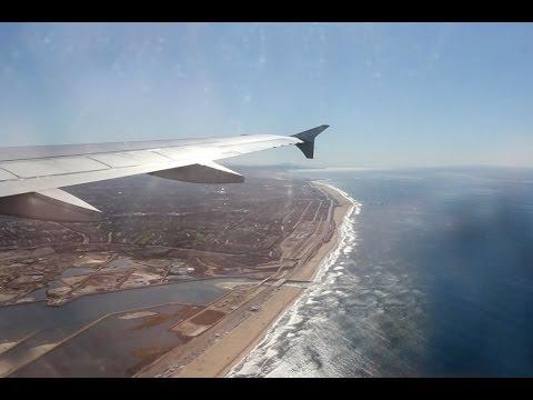 jetBlue Flight B6 735 (SFO-LGB) Landing in Long Beach (N708JB)