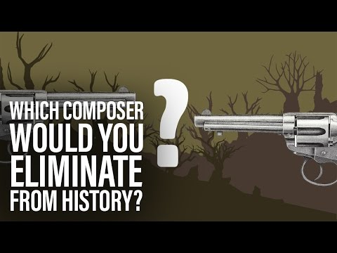 Which composer would you eliminate from history? We ask our musicians.