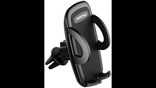 Mpow Car Phone Mount, Air Vent Phone Holder for Car with Adjustable Car Phone Holder Cradle