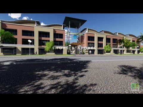 Architectural 3d animation Central Business District  MAKURDI