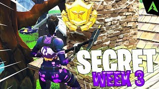 THE HOUSE CHIMNEY IS * SECRET LOCATION * FOR WEEK 3 IN FORTNITE!